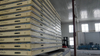 Insulation freezer room with injection camlock PU panel