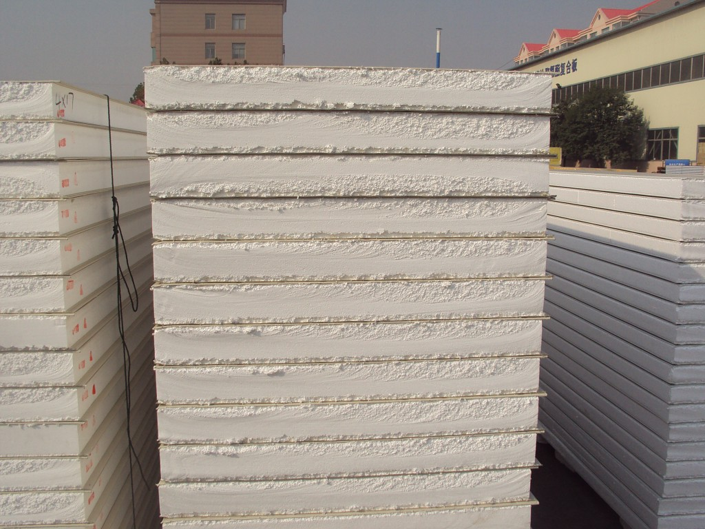 building material -Insulation EPS Sandwich Panel for Roof