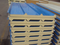 Outside Wall/Roof Cladding System High Quality Sandwich Panel with ISO