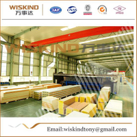 50mm/75mm/100mm Rock Wool Sandwich Panel for House