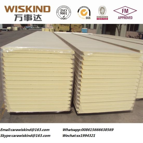 Polyurethane Sandwich Panel for Cleanroom Panel or Cleanroom Wall