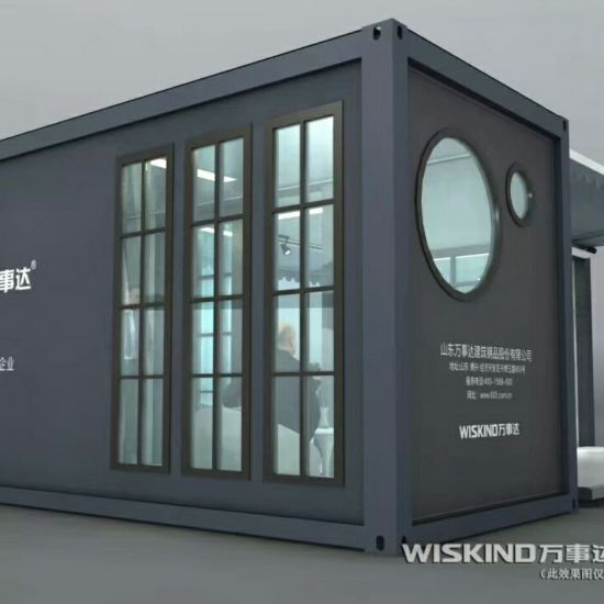 Prefab House with Light Steel Container House High Quality