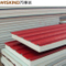 Fireproof 50mm / 75mm / 100mm / 150mm EPS / Rockwool / Glasswool / Polyurethane Sandwich Panel