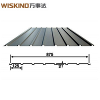 Corrugated Roofing Sheet Effective Width 875 with High Strength