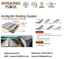 Standing Seam System for Metal Roof System