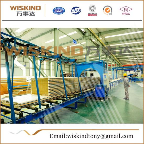 50mm/75mm/100mm Rock Wool Sandwich Panel Used Chicken House