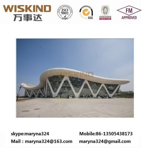 Building/Construction Material Structural Beam House for 500 Sqm Prefabricated Structure Steel Building with Roof Panel
