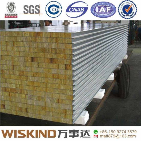Wiskind Cold Room Sandwich Panel with PIR/PUR PU (Polyurethane) Insulation