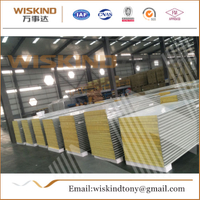 High-Quality Rock Wool Sandwich Panel for Steel Structure
