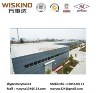 GB/ASTM/ISO Standard Building Material H Beam for 2000 Sqm Structure Steel Building with Roof Panel for Workshop