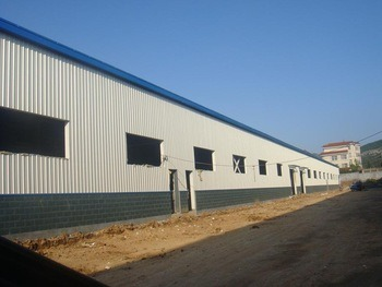 Steel Frame Prefabricated Steel Structure&Sandwich Panel Cladding System