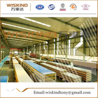50mm/75mm/100mm Rock Wool Sandwich Panel Used Clean Room