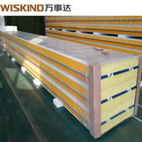 Wiskind 1000 PU Polyurethane Sandwich Panel with ISO9001 for Big Construction