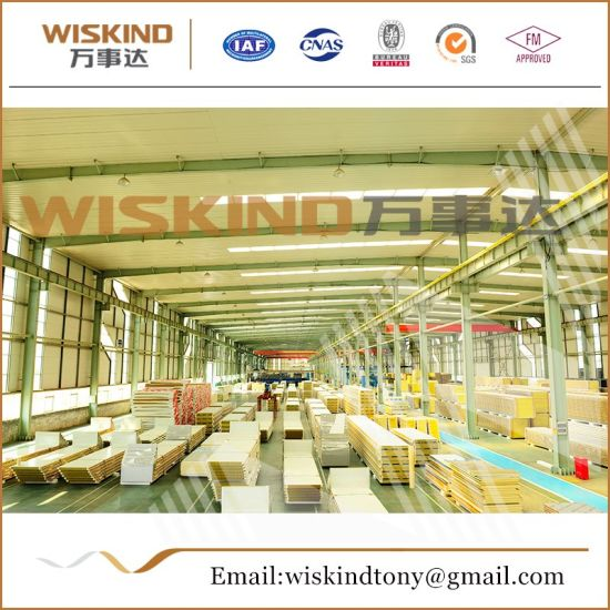 50mm/75mm/100mm Rock Wool Sandwich Panel for Chicken House