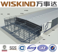 Q235B Modular Heavy Prefabricated Metal Light Steel Structural