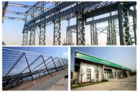 Steel Structure Sandwich Panel Cladding System for Factory