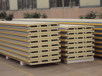 Power Coated/PPGI/PPGL Metal Cladding Sandwich Panel for Outside Wall