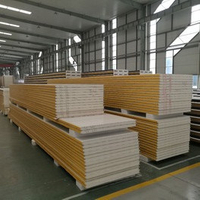 PIR Sandwich Panels for Slaughter House