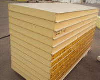 China Cheapest Polyurethane PU Insulated Roof/Wall Sandwich Panels with ISO/FM