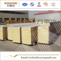 Insulation PU/PIR Sandwich Panel Used Steel Building
