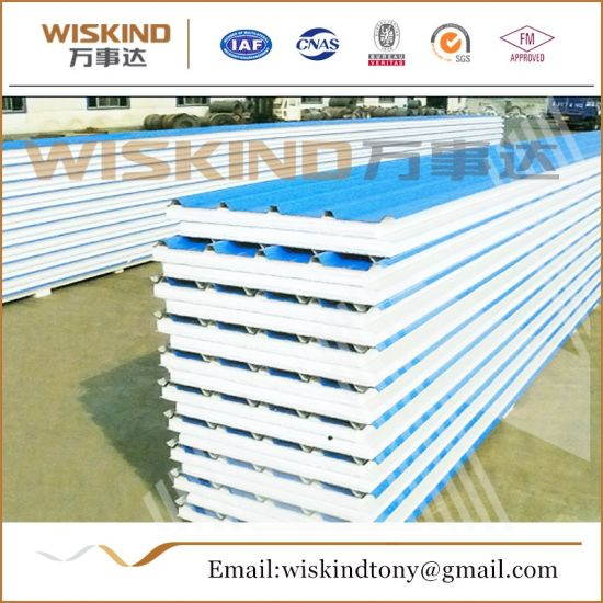 Fireproof EPS Sandwich Panel for Warehouse