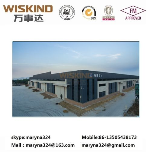 Design Construction Material Structural Beam Factory/House for 1300 Sqm Prefabricated Structure Steel Building with Roof Panel